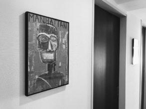 廊下とアート