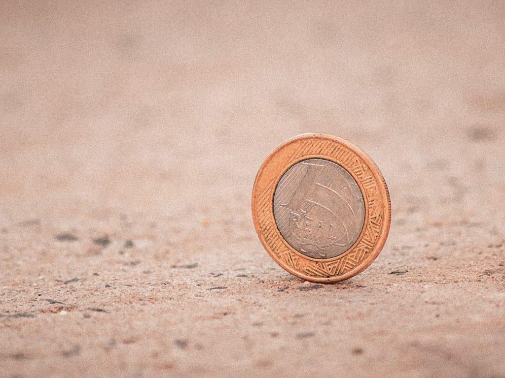 ブラジルのコイン硬貨