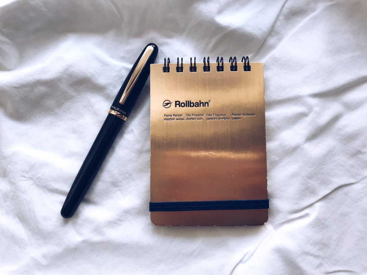 プラチナ万年筆バランス