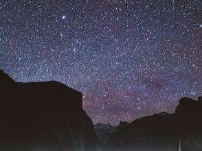 瞑想と星空